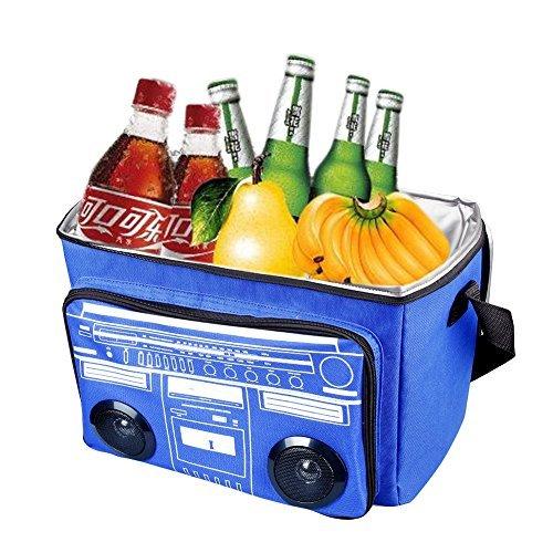 Waterproof Picnic Cooler Bag Beach Bag Insulated Cooler Bag Bluetooth Speaker