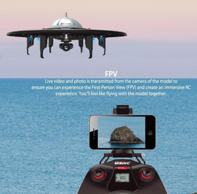 WiFi FPV UFO Quadcopter Drone