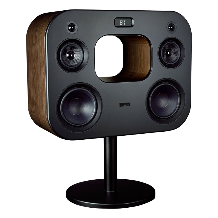 Wireless High Fidelity Music System with Powerful Amplifier & Dual 8 Subwoofers
