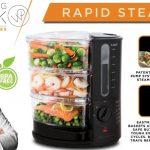 Wolfgang Puck 1400 Watt BPA-Free 3-Tier Rapid Food Steamer