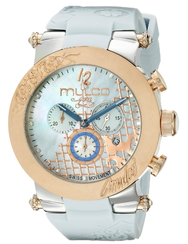 Women's MW3-13403-423 Era Analog Display Swiss Quartz Blue Watch