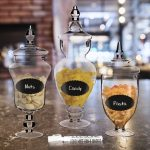Apothecary Clear Glass Decorative Buffet