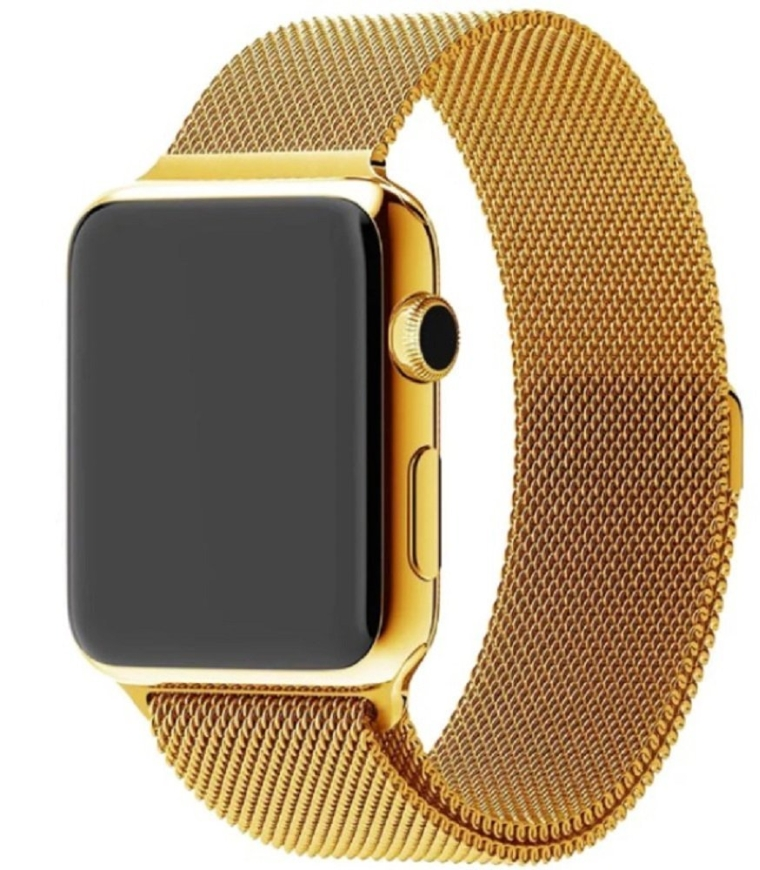 apple watch 24k gold plated