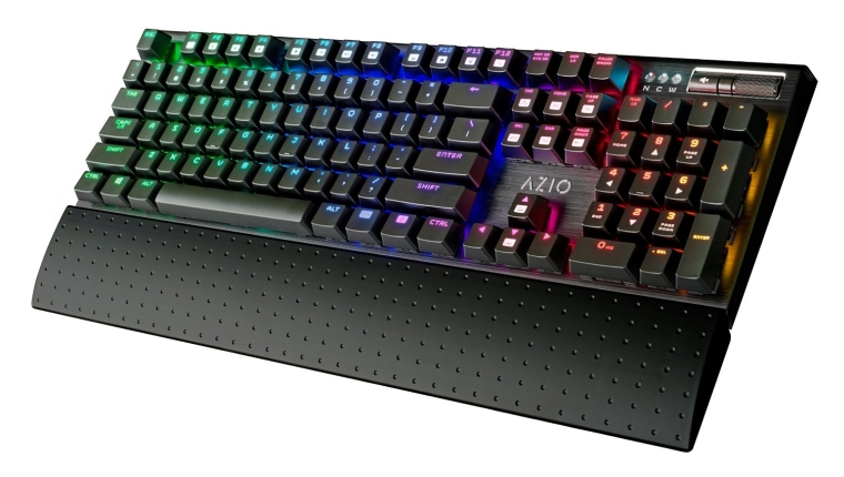 Azio RGB Backlit Mechanical Gaming Keyboard