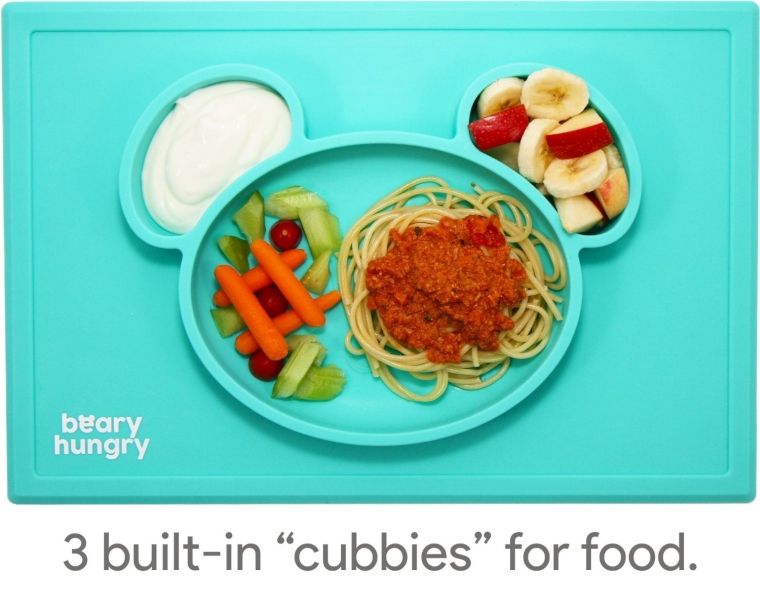 Beary Hungry All-in-one Silicone Suction Placemat