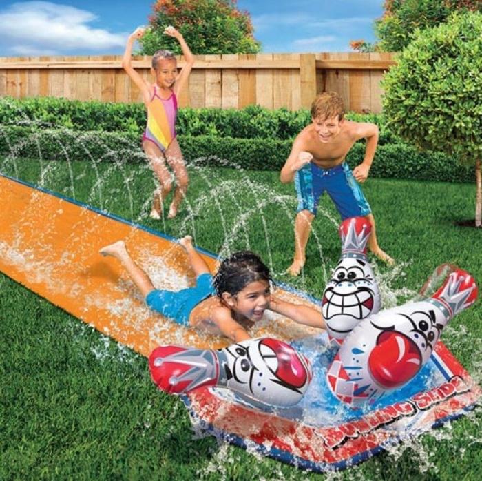 Big Splash Bowling Slip And Slide 7 Gadgets