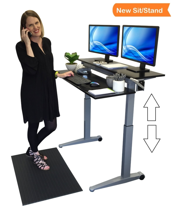 Dual Level Standing Desk