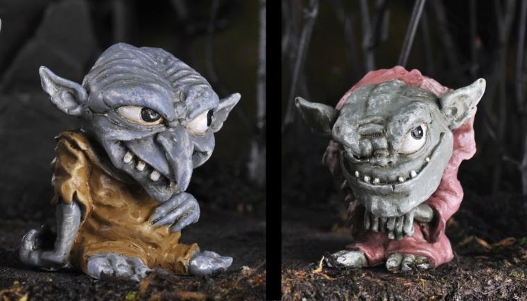 Fairy Garden Miniature Trolls
