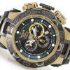 Invicta Mens Subaqua Noma V Men Stainless Steel Gunmetal & Gold Tone Stone Distressed 5050.E Quartz Watch
