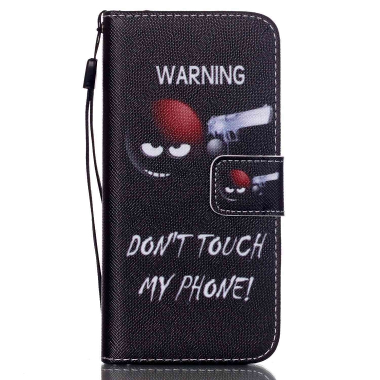 Leather Wallet Phone Case Cover For iPhone & Samsung