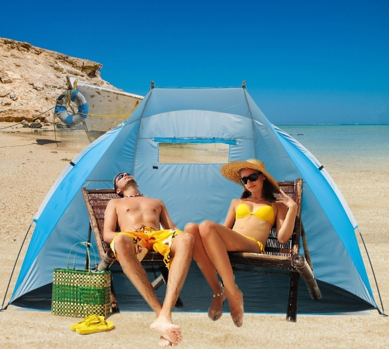 Outdoor Portable Beach Cabana Tent