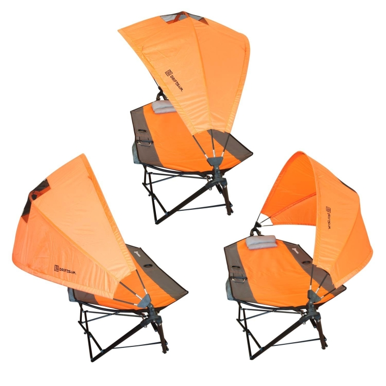 Patio and Camping Hammock with Canopy For Sun Protection and Comfort