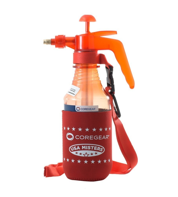 Pump Mister & Sprayer With Koozie Styled Neoprene Cool Sleeve