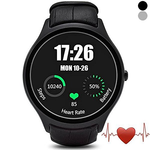 Smart Watch Android 4.4 MTK6572 with Wifi Heart Rate Monitor