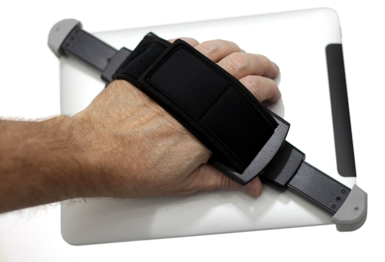 Soft Neoprene hand-held holder for your tablet