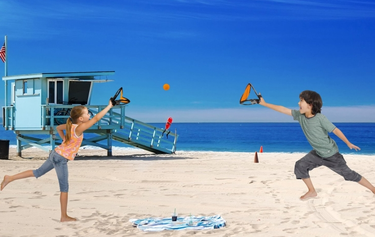 Squap Paddles & Ball Outdoor and Beach Game