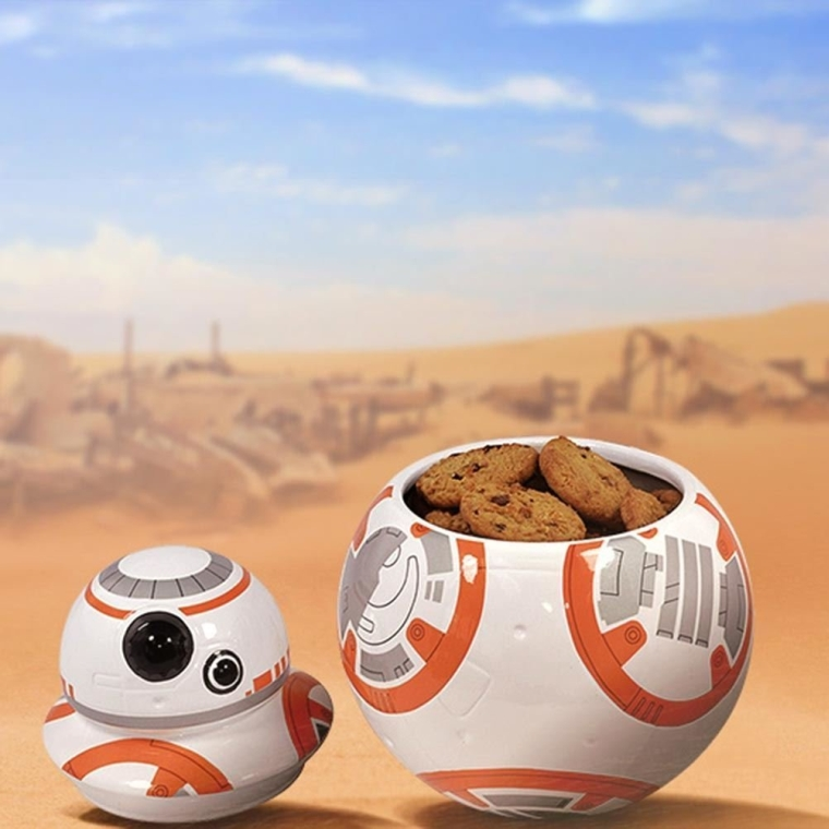 Star Wars The Force Awakens Bb 8 Character Ceramic Cookie Jar