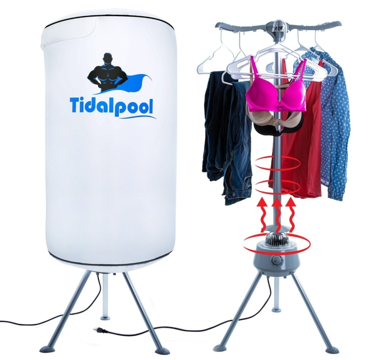 Tidalpool Portable Electric Clothes Dryer 7 Gadgets