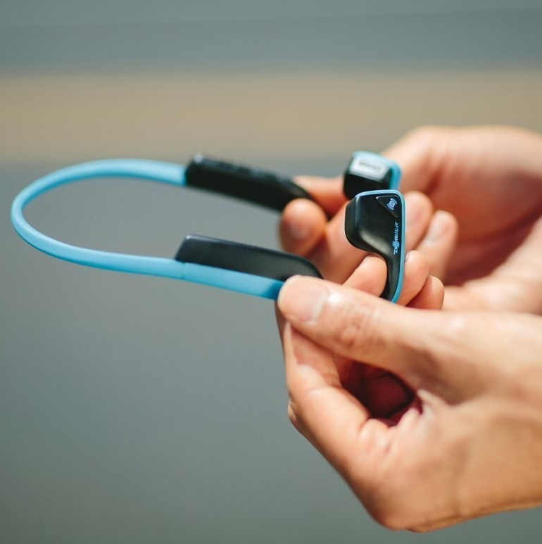 Titanium Open-ear Bluetooth Headphones