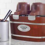 Vintage Collection 4-Quart Double Flavor Electric Ice Cream Maker