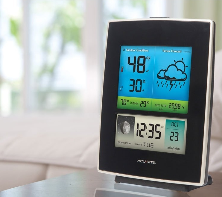 Weather Station with ForecastTemperatureHumidityMoon Phase