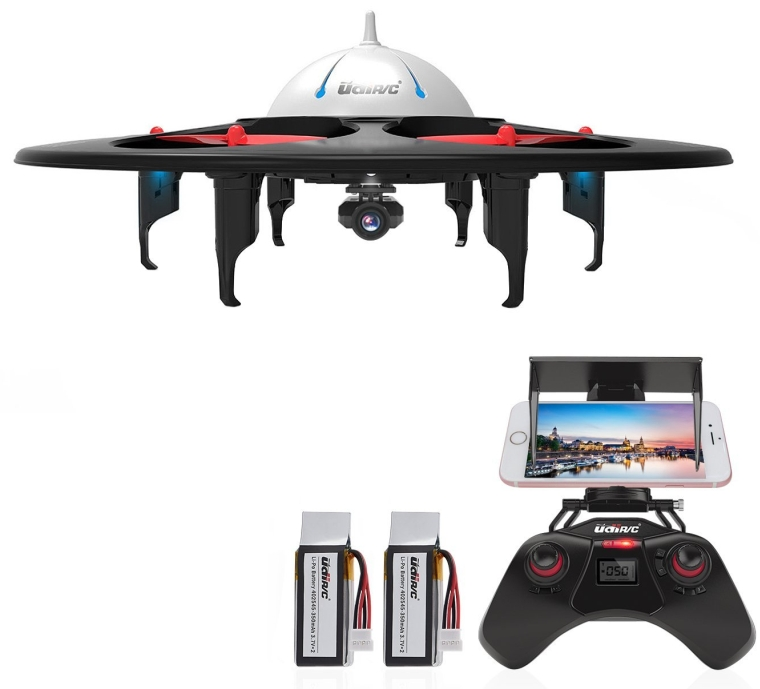 WiFi FPV UFO Quadcopter Drone with HD Camera