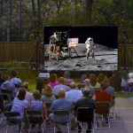 12-Foot Backyard Theater System w Optoma 720p Projector+WiFi