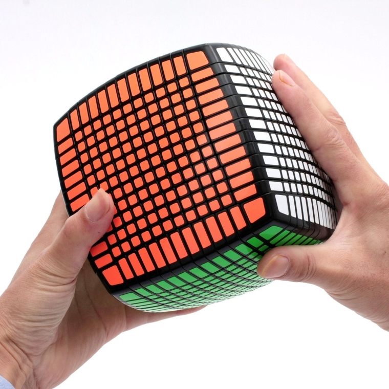 13x13x13 Speed Cube Puzzle Black