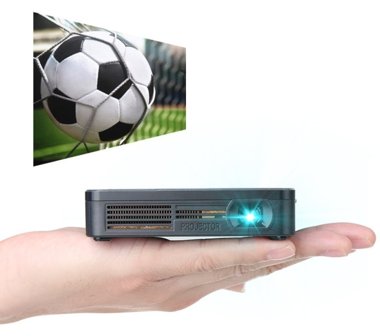 Crenova XPE700 Pico Video Projector Mini Projector WiFi Connection with iPhone Smartphone iPad tablet