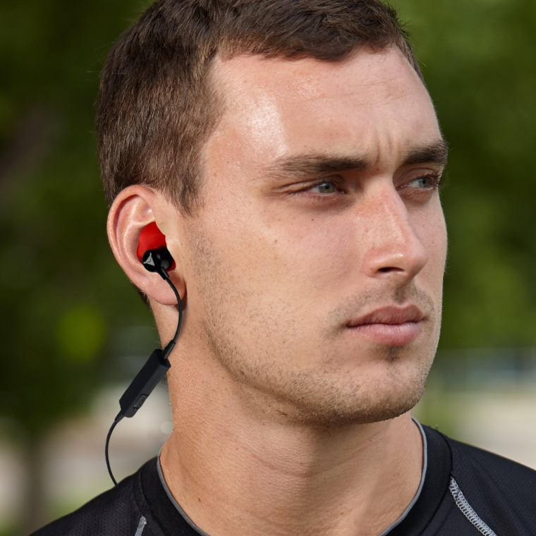 Decibullz Custom Molded Wireless Bluetooth Earphones