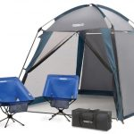 Deluxe Screened Shelter & 2 Chair Set