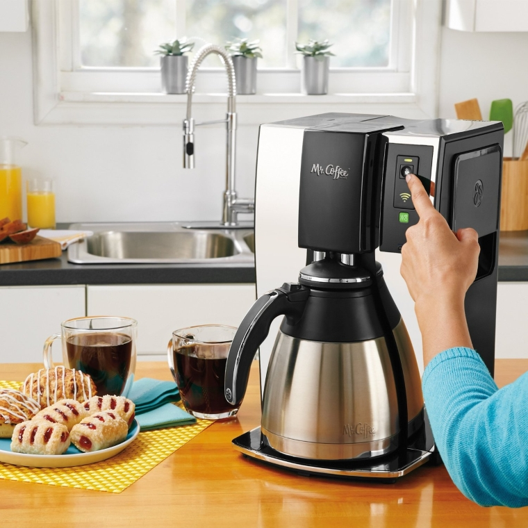 Mr. Coffee Smart Wifi-Enabled WeMo 10-Cup Optimal Brew Coffeemaker