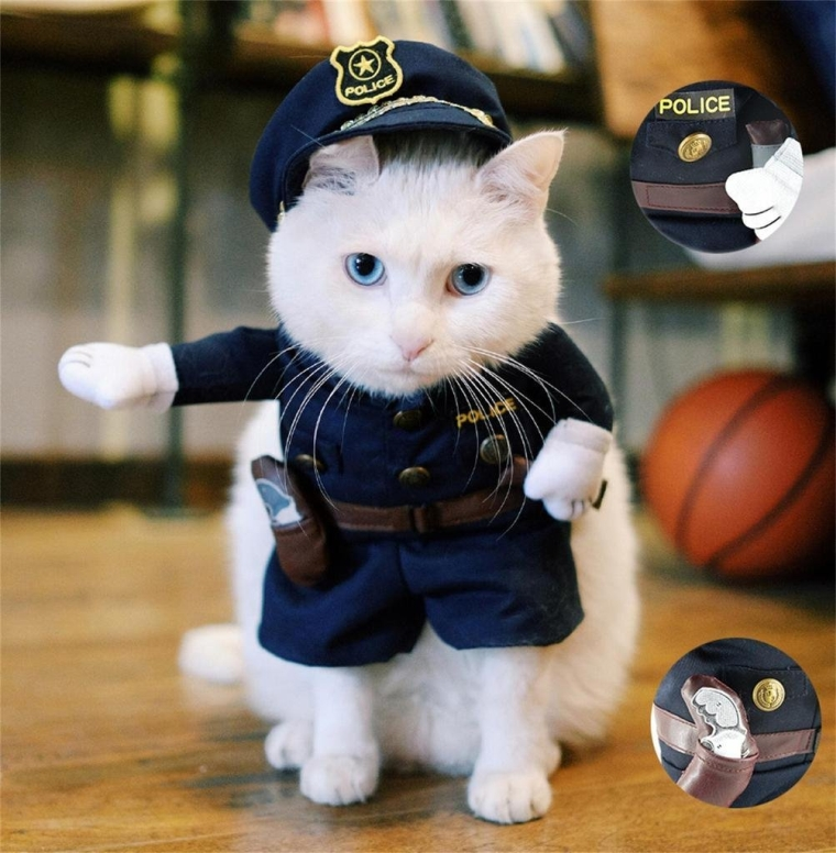 Pet Policeman Costume