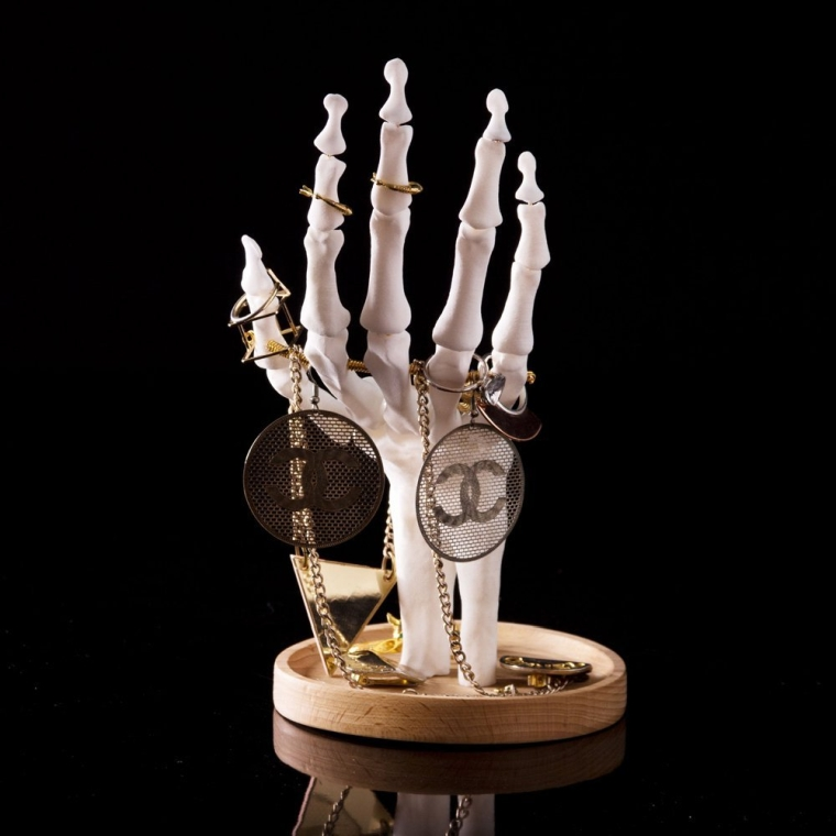 Skeleton Hand Jewellery Holder