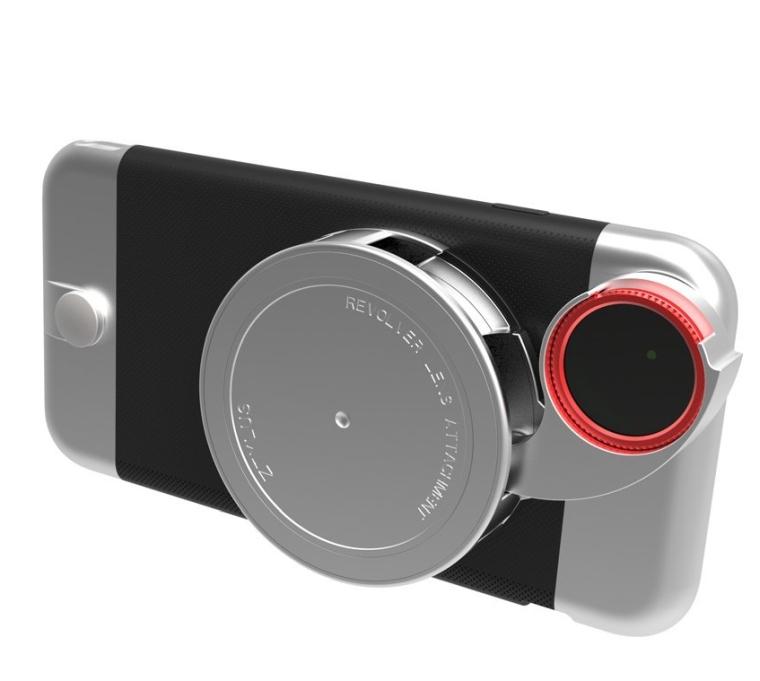 Ztylus iPhone 6s  6 Metal Series Camera Kit w 4-in-1 Lens Attachment