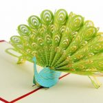 3D Pop Up Customized Greeting Card Happy