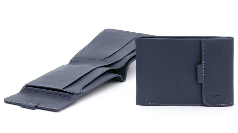Bellroy Men's Leather Coin Fold Wallet