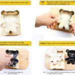 Cute Bear Sandwich Cutter for Kids