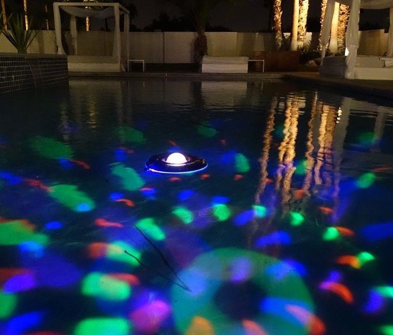 Floating-Light Show Music Player