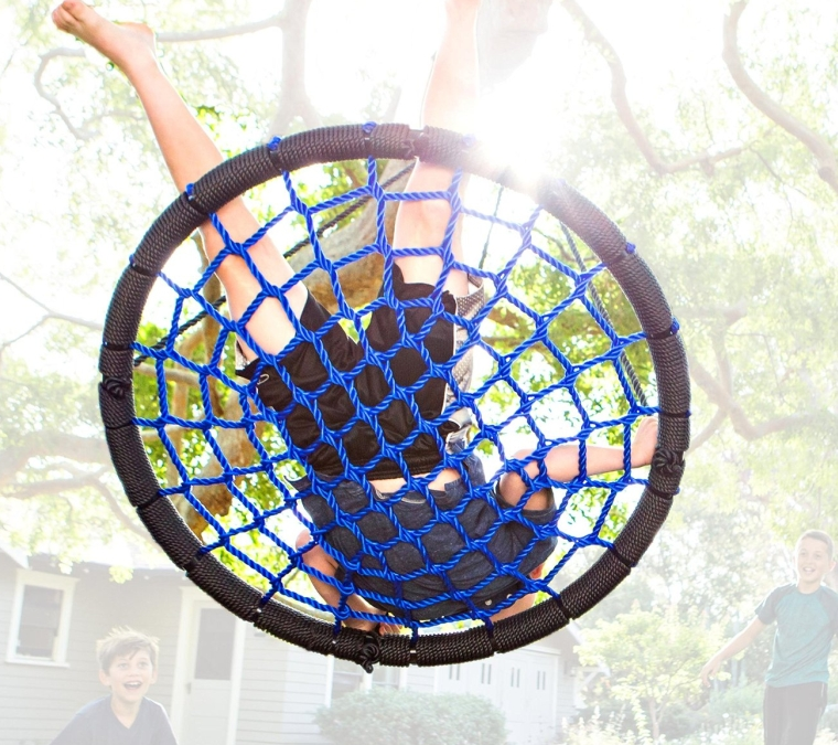 Galaxy Tree Swing + Hanging Strap Kit + 360º Swivel Rotator