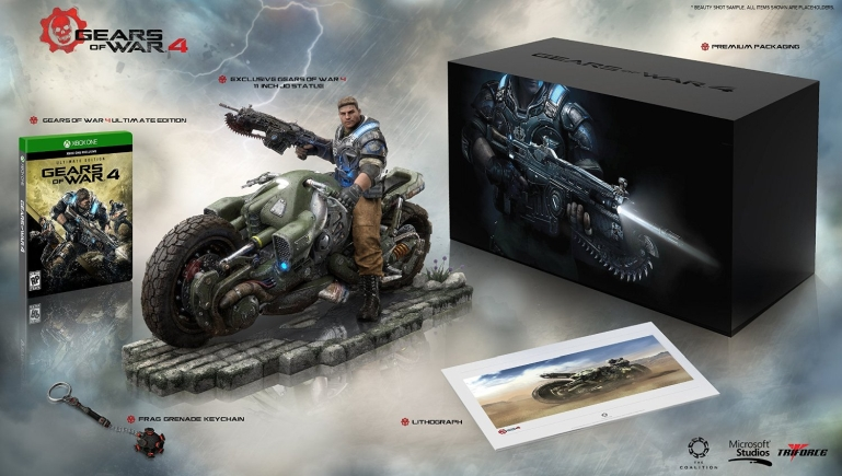 Gears of War 4 Collector's Edition (Includes Ultimate Edition SteelBook + Season Pass + Early Access) - Xbox One