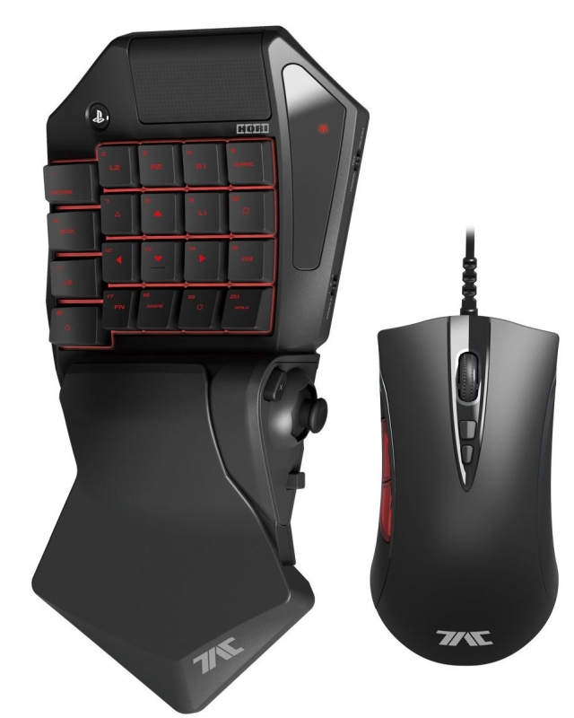 HORI Tactical Assault Commander Pro (TAC Pro) KeyPad and Mouse Controller