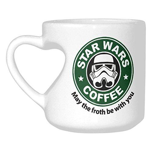 Heart-shaped Travel Water Coffee Mug Tea Cup