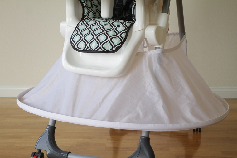 Highchair Bib (White