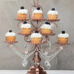 'Madeleine Collection' 12 Piece Rose Gold Cupcake Dessert Stand