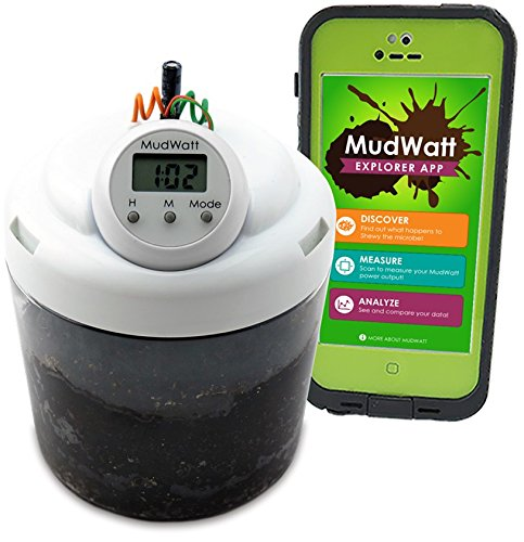 MudWatt - Clean Energy from Mud - Grow your own living fuel cell