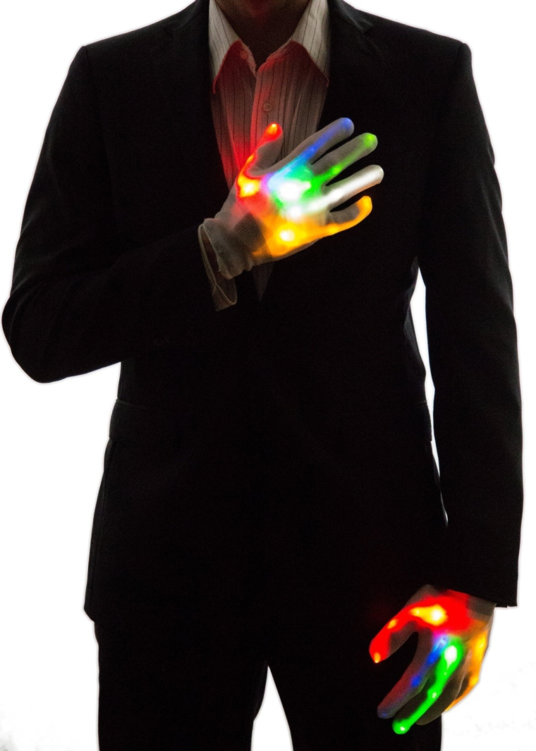 Neon Nightlife Light Up Gloves