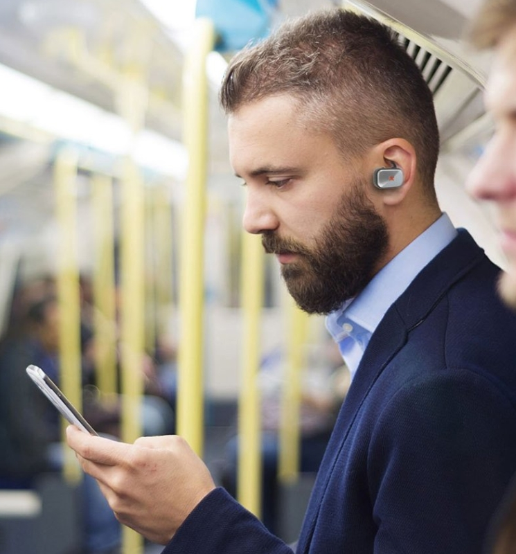 PKparis Full Wireless Bluetooth Headset for Universal Smartphones