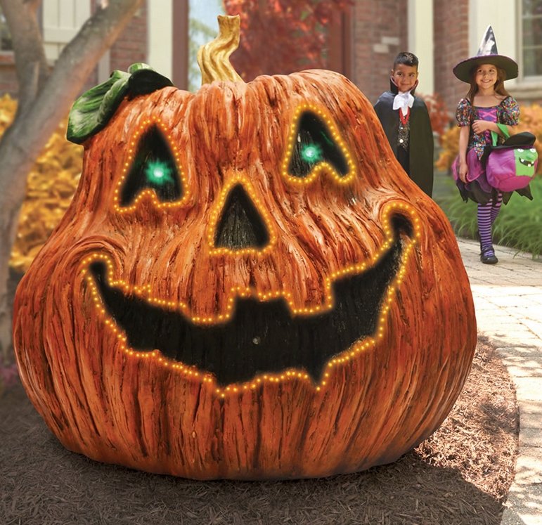 The Giant Haunted Jack-O'-Lantern
