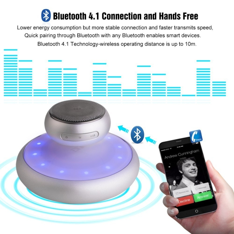 UPPEL Wireless Levitation and Floating Bluetooth Speaker With Lights Music